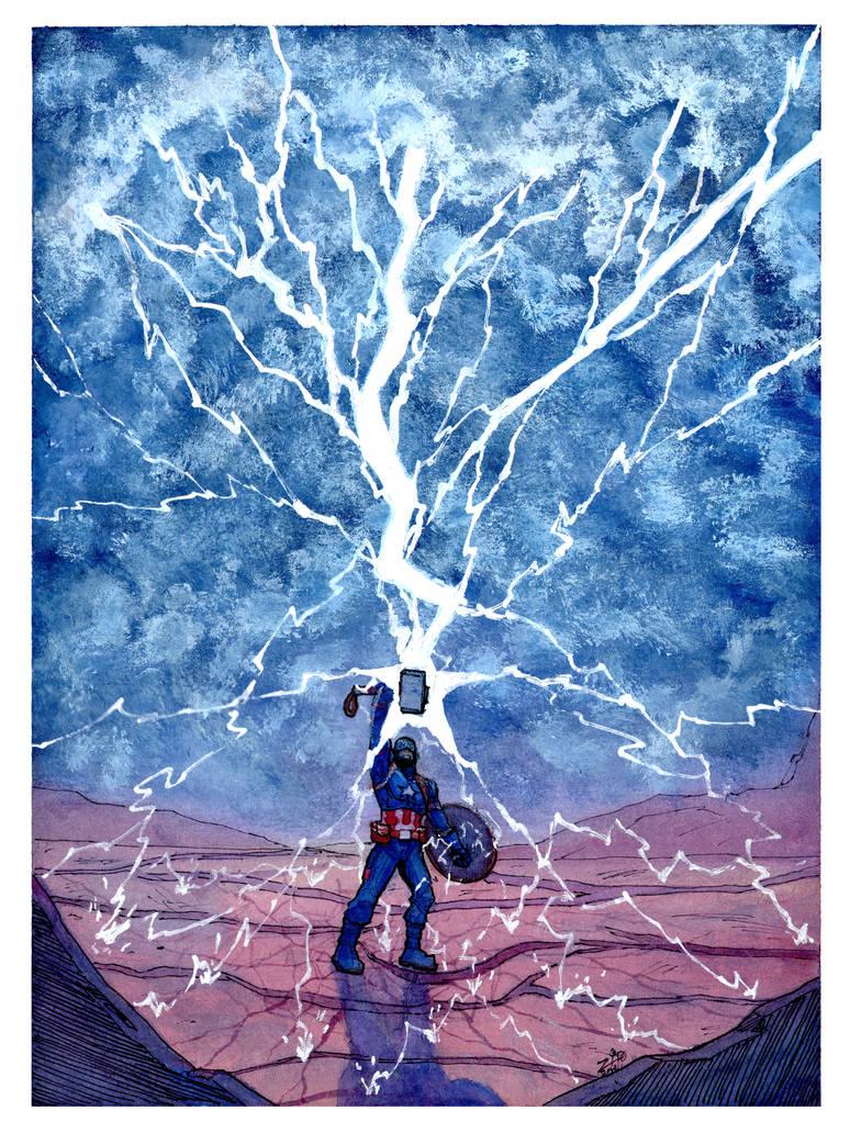 Worthy Captain America By Zipdraw On Deviantart