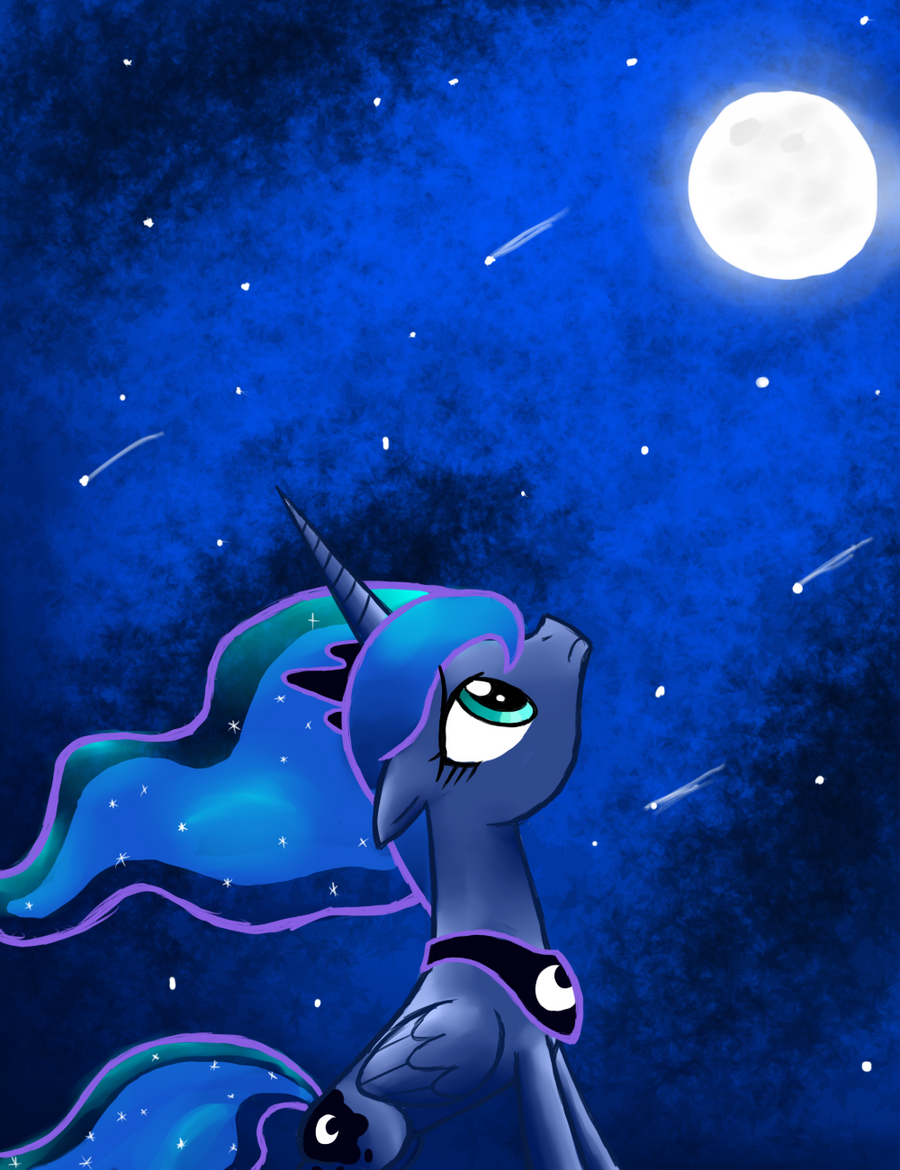 Soul Searching Luna by Gallade77
