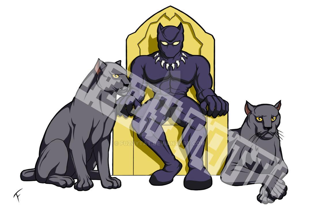 Black Panther By Portela On Deviantart: Black Panther By Fuzzytat On DeviantArt
