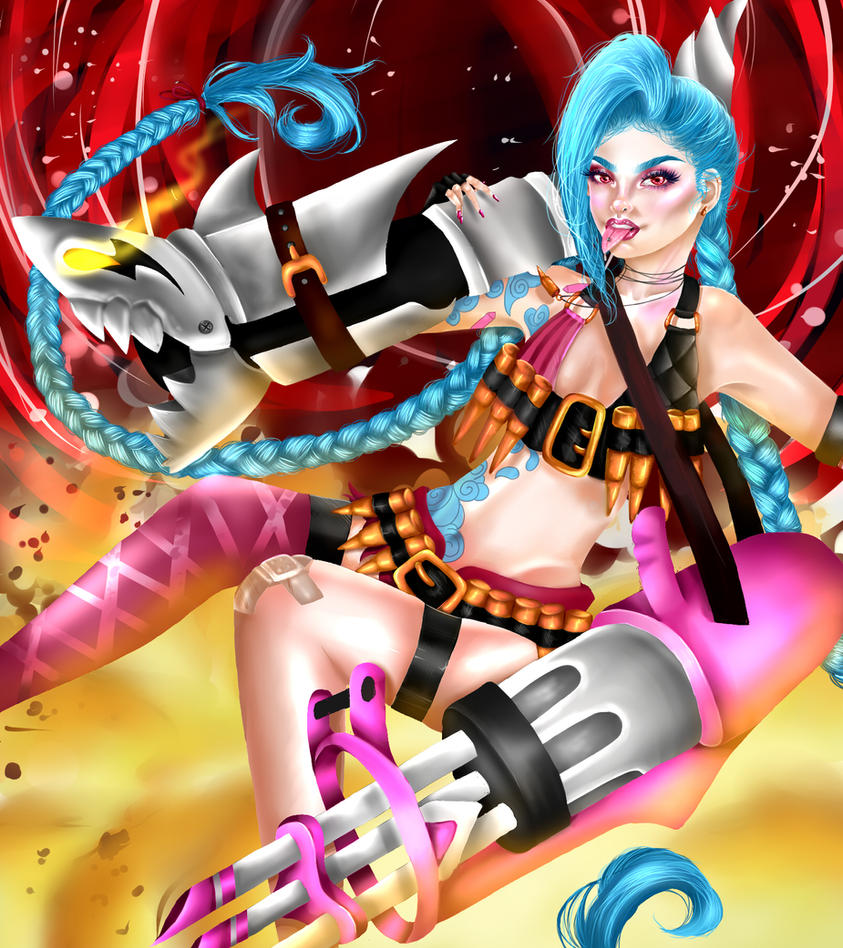 Jinx  by Criimon