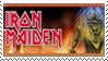 Iron Maiden Stamp by soxadoodle