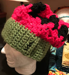 Green People Granny Beret by FoulFaulFowl