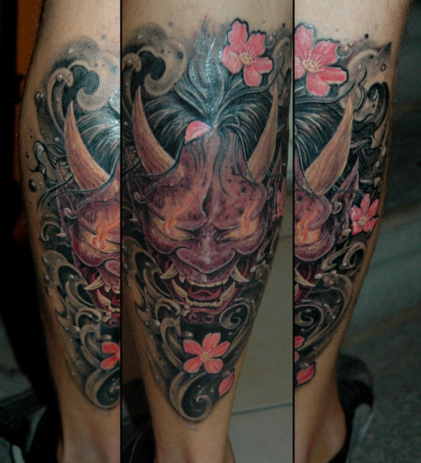 hannya mask by sziliorg on deviantart. Black Bedroom Furniture Sets. Home Design Ideas