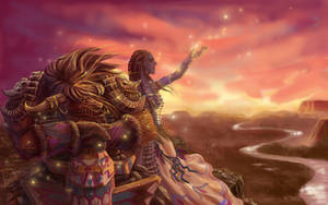 -A Song of Shaman- by Athena-Erocith