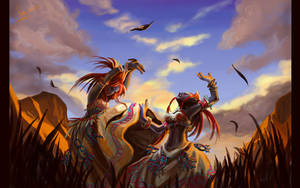 Dance of the Barrens wallpaper by Athena-Erocith