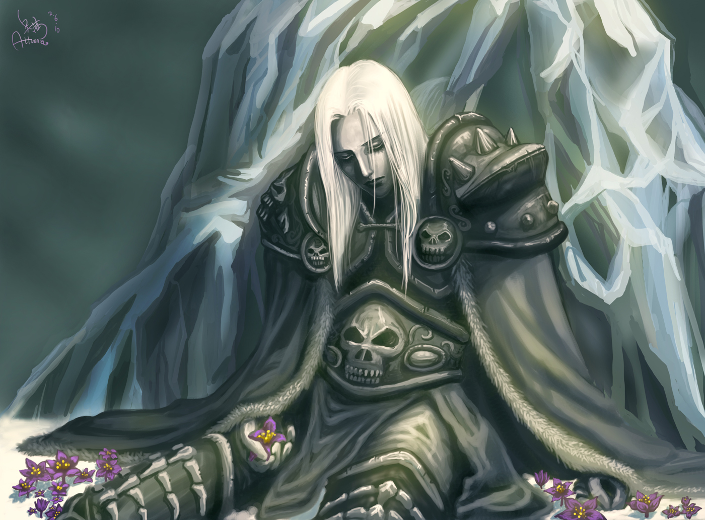 Rest In Peace Arthas By Athena Erocith