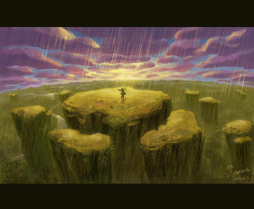 A Song of Rain by Athena-Erocith