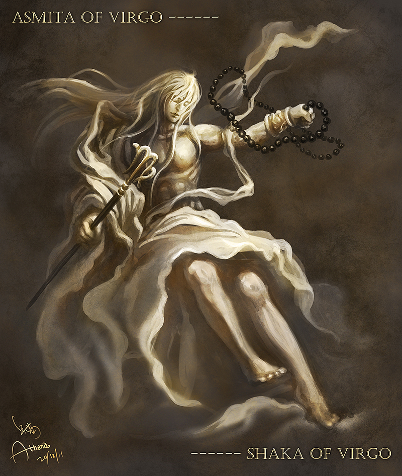 Asmita Shaka of Virgo by Athena-Erocith