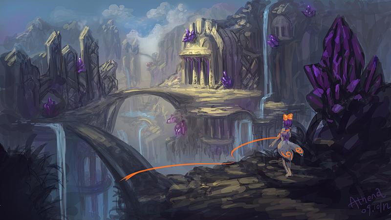Mountain Amethyst by Athena-Erocith