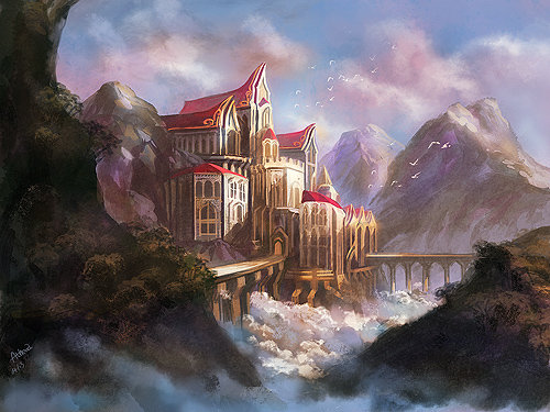 Castle by Athena-Erocith