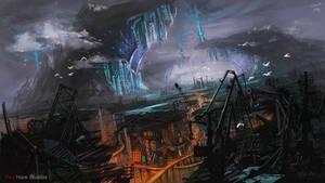 Future City by Athena-Erocith