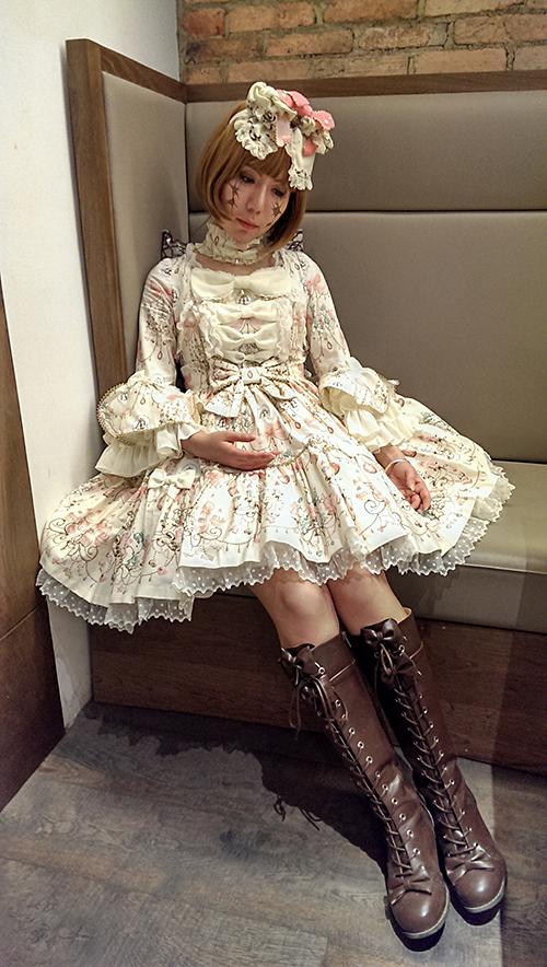 broken dollmy halloween look by athena erocith