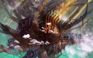Iron World Tree by Athena-Erocith