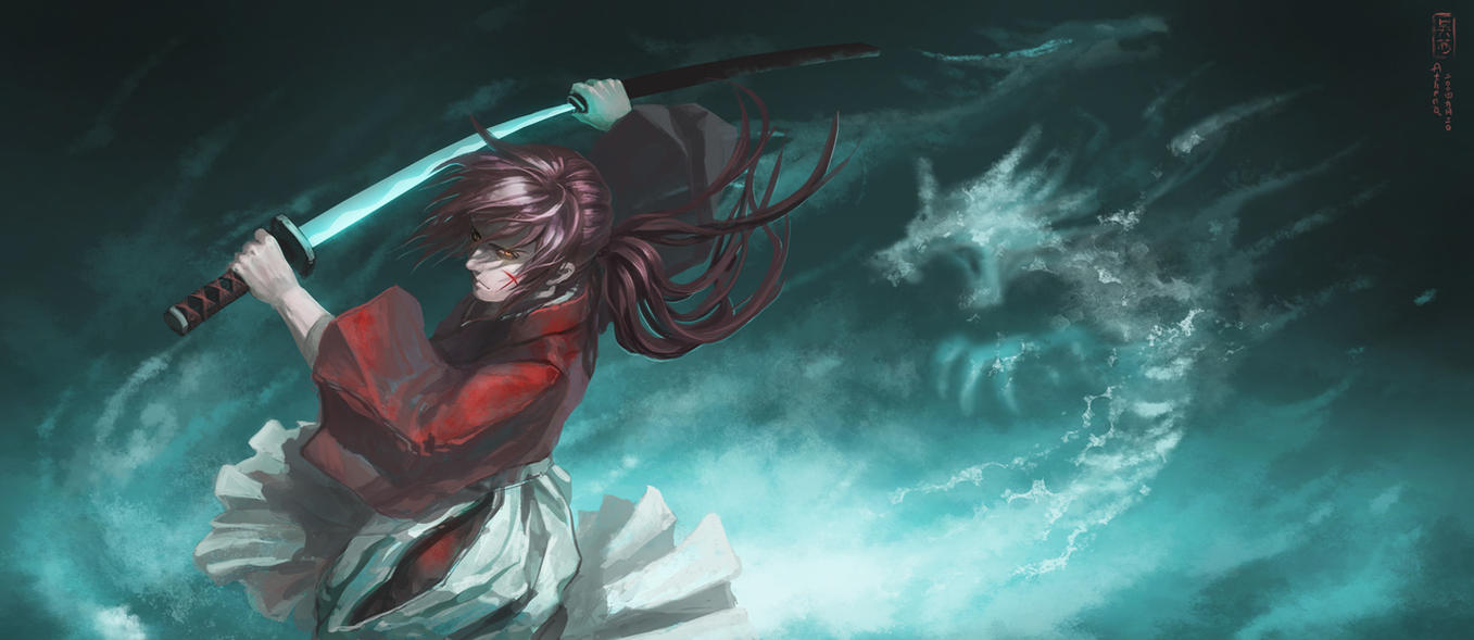 Rurouni Kenshin by Athena-Erocith