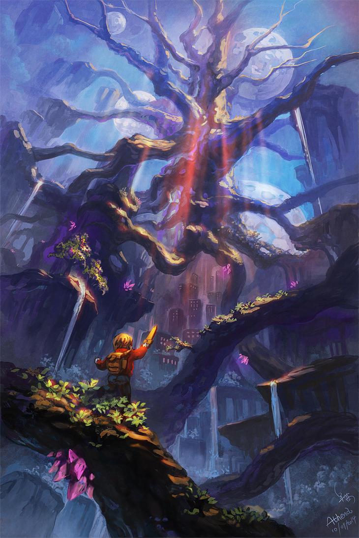 Worm World Saga by Athena-Erocith