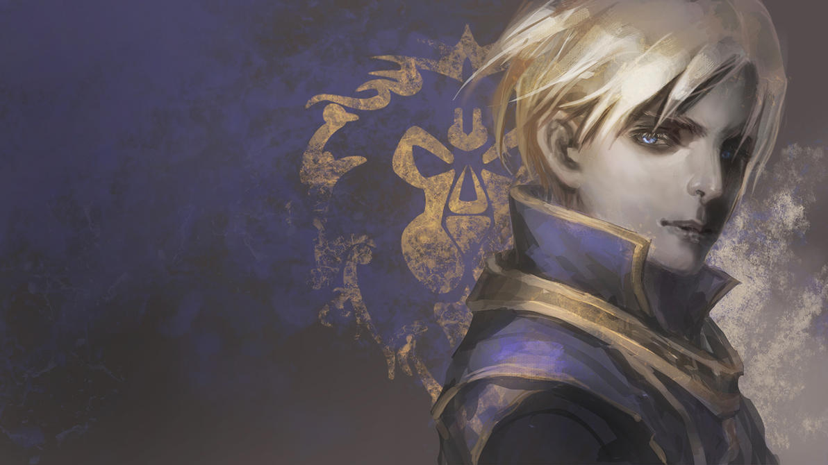 Anduin Wrynn by Athena-Erocith