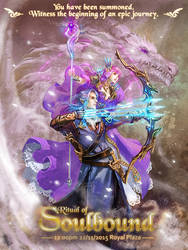 ~Ritual of Soulbound~(Wedding Invitation Card) by Athena-Erocith