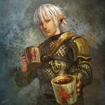 Share a cup of hot cocoa with Haurchefant