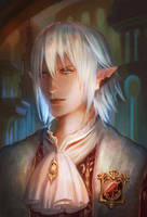 Haurchefant de Fortemps by Athena-Erocith