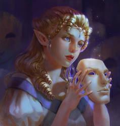 Many Faces by Athena-Erocith
