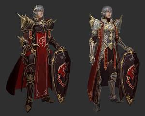 Haurchefant Unicorn armour design sketches