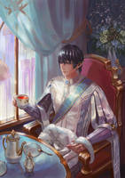[FFXIV] Teatime with Aymeric