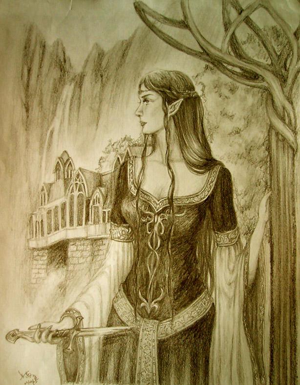 Evenstar awaits by Athena-Erocith