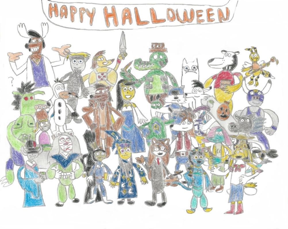 TUFF Agents' Halloween Party by TUFFAgentShepherd