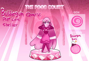 The Food Court: Bubblegum Quartz by LadyPeri