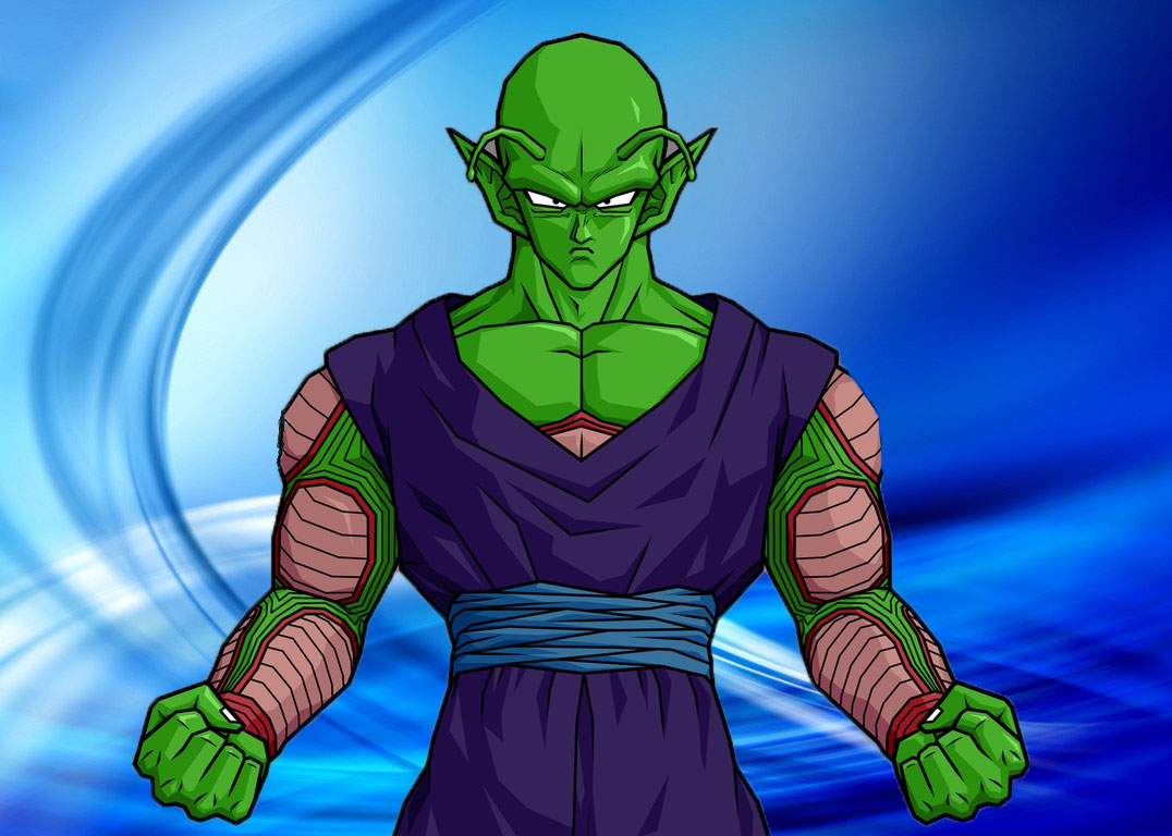 The Antagonis Face Of piccolo - Anime Pictures