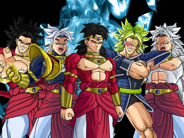 Broly Transformation Wallpaper by towle4 on DeviantArt