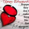 Team Edward by Gabbehx-x