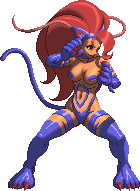KOF XIII Felicia Palette 1 by CaliburWarrior