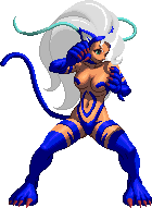 KOF XIII Felicia Palette 8 by CaliburWarrior