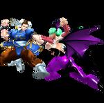 Capcom All-Stars - Chun-Li Vs Morrigan