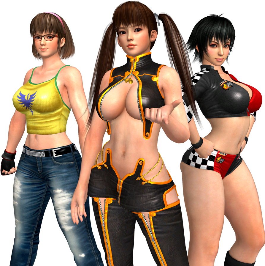 Dead or Alive - Team Lei-Fang by CaliburWarrior