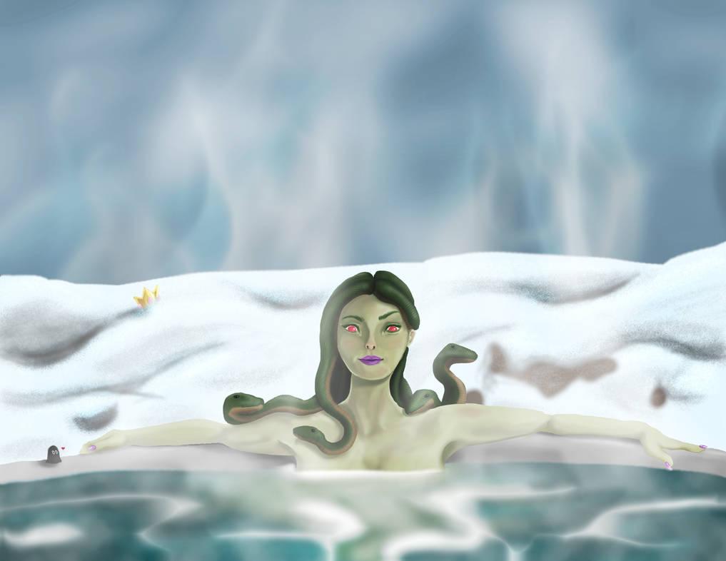 Vera's Victory Bath by aeiouthemouse
