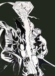 Dark Claw vs Super Soldier