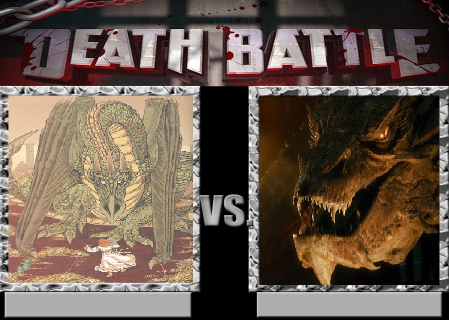 Shalathrumnostrium vs Smaug by KaijuAlpha1point0