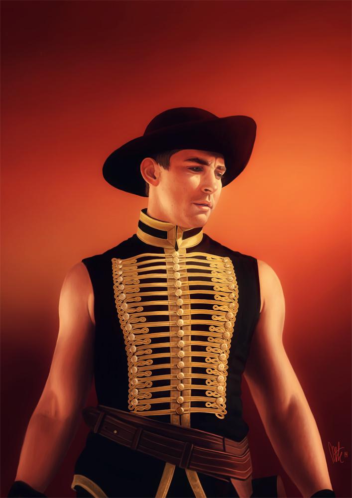 Lee Pace Red Bandit | www.imgarcade.com - Online Image Arcade!