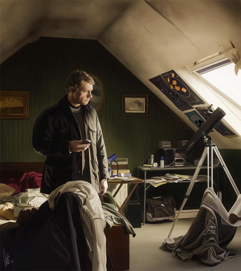 John Watson in the Museum Guard's Bedroom by tillieke