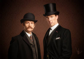 The victorian crime-solving duo