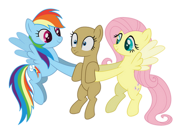 MLP base 43 collab vers by IntFighter