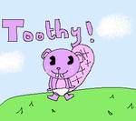 HTF- Baby Toothy