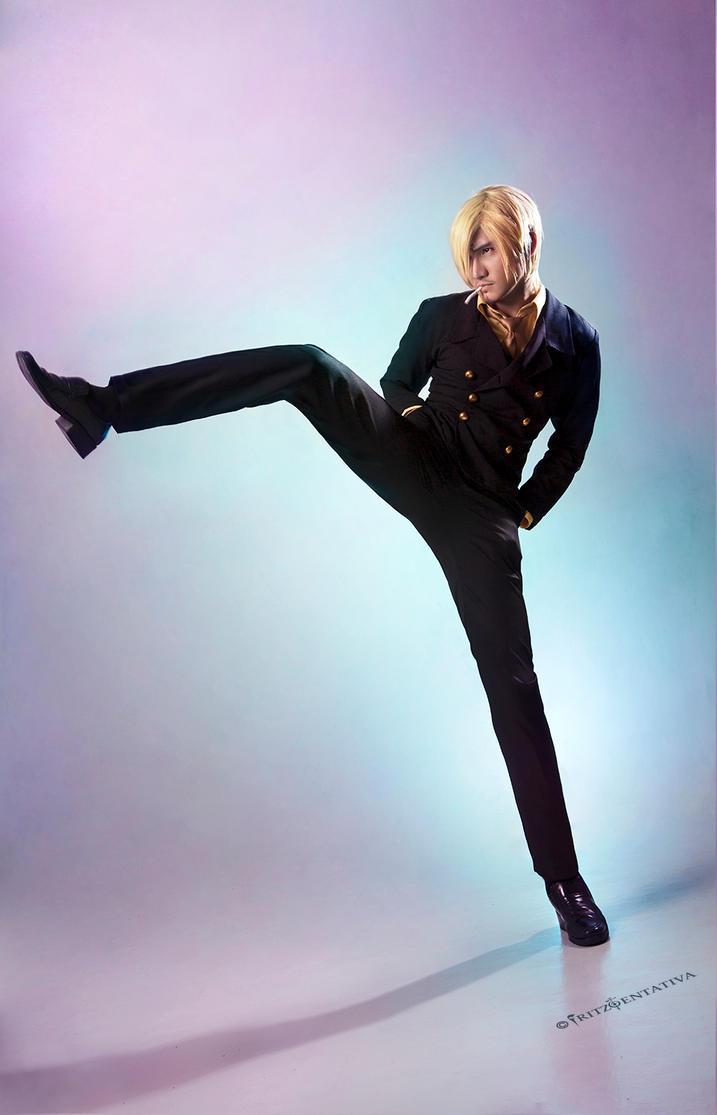 Sir Black Leg ~Sanji Cosplay New World by liui-aquino