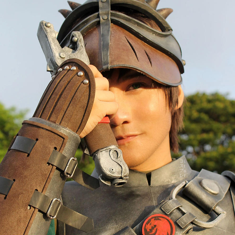 hiccup cosplay how to train your dragon 2 by liui aquino