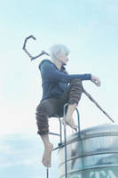 Jack Frost cosplay by liui-aquino