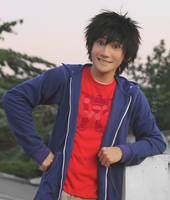 Hiro Hamada Cosplay Big Hero 6 by liui-aquino