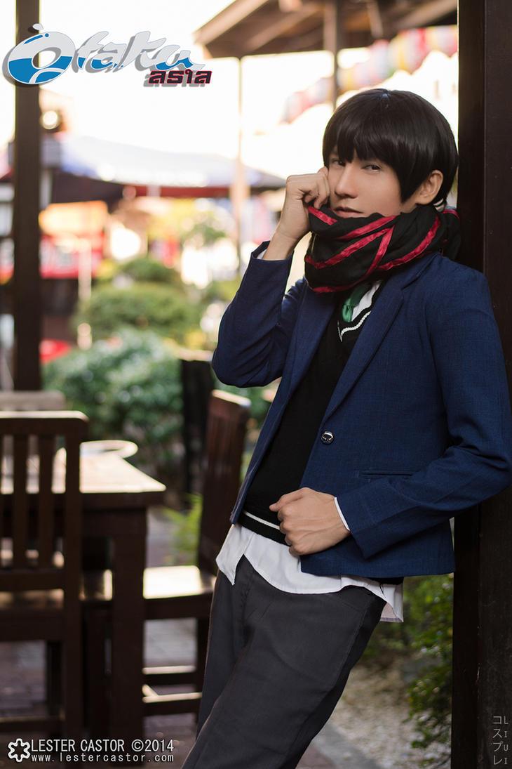 Hiroomi Nase Cosplay - Kyoukai no Kanata by liui-aquino