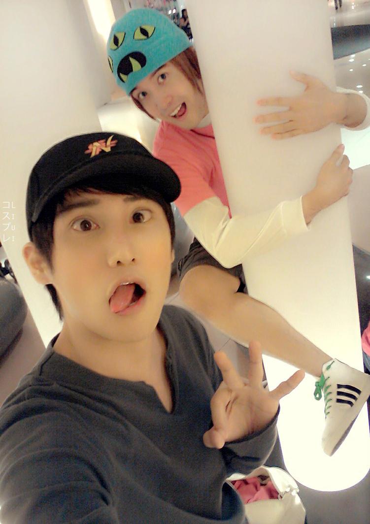 Tadashi Hamada and Fredzilla Cosplay Big hero 6 by liui-aquino
